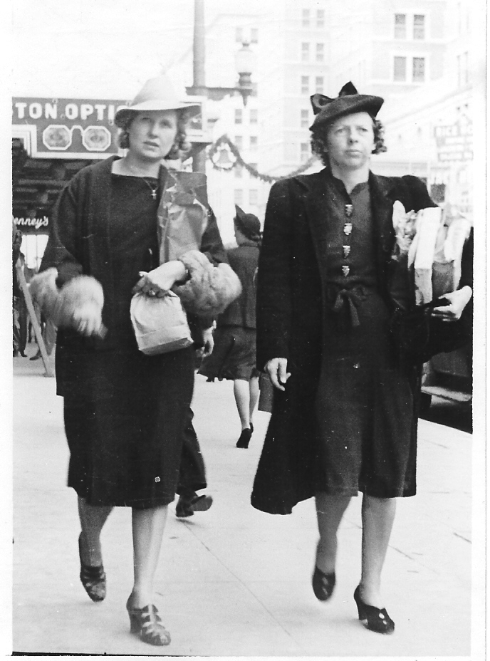 1930s mother w/Mrs. Harms