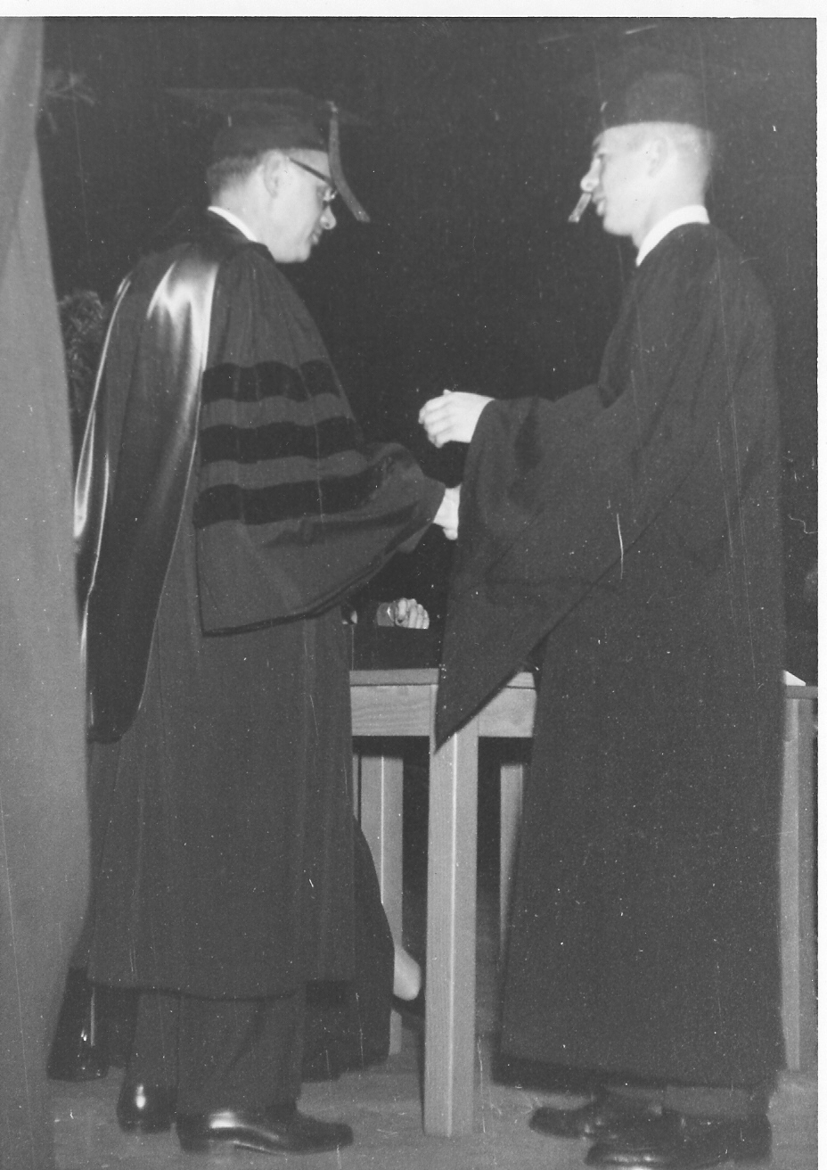 receiving degree from UT