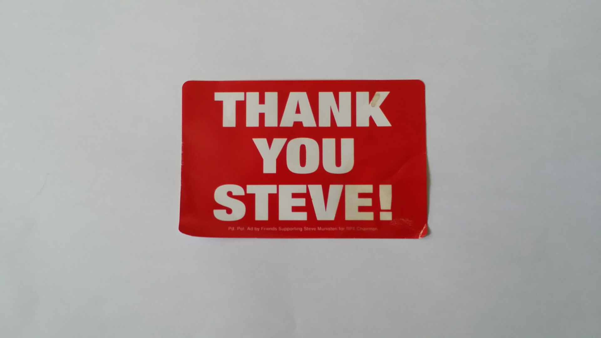 VFV--Texas Republican State Converntion 2014-06-10 08.16.21Steve sticker